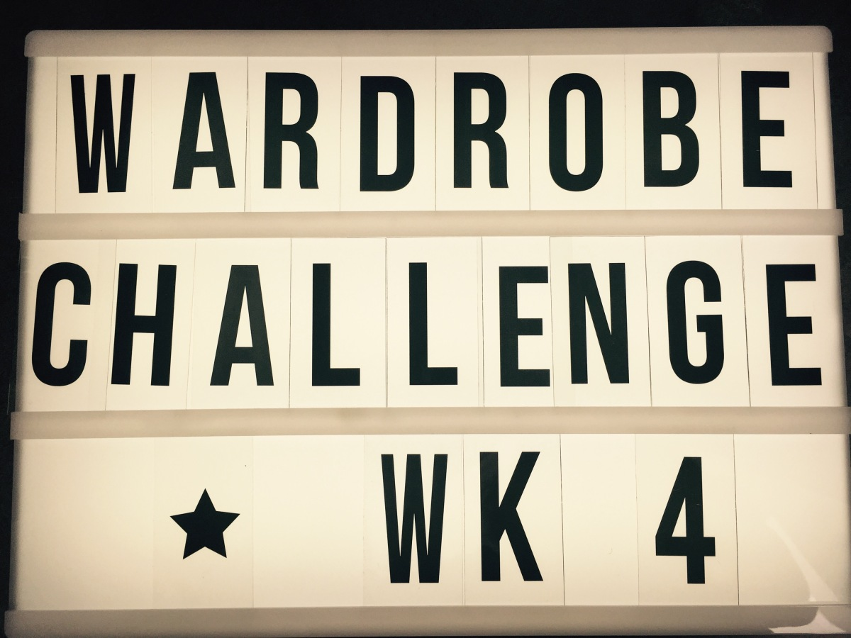 Kicking the Shopping Habit – Wk 4 (andcounting!)