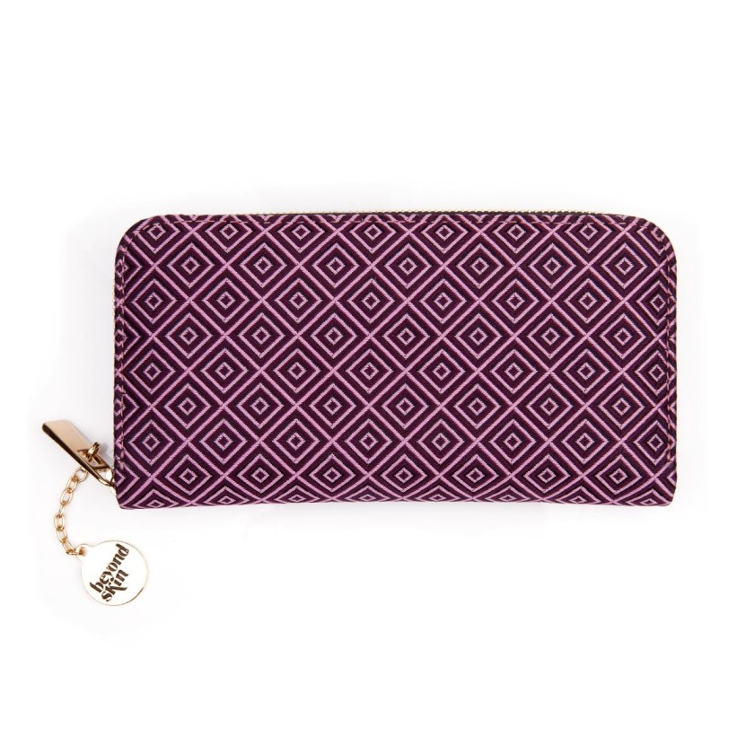 Bella Purple Purse Vegan